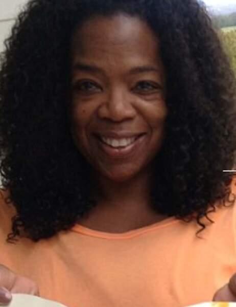 Oprah Winfrey chez elle