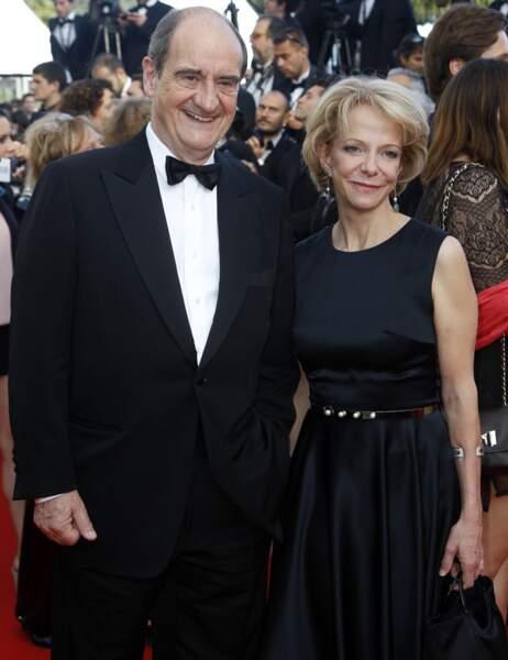 Pierre Lescure, qui deviendra l'année prochaine président du Festival de Cannes, et son épouse