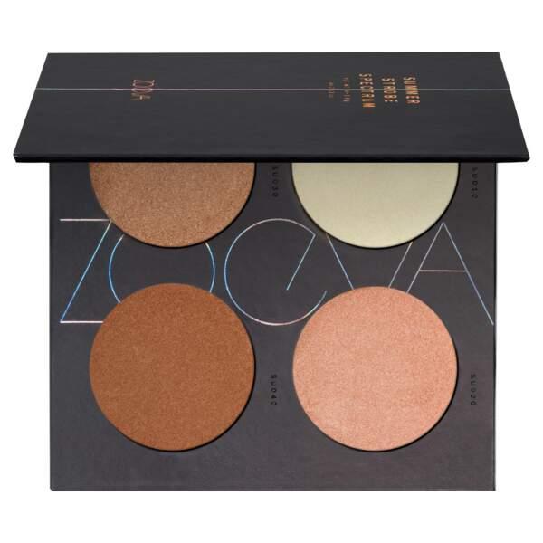 Notre sélection de palettes à petit prix : Zoeva, Spectrum palette blush, 18 euros