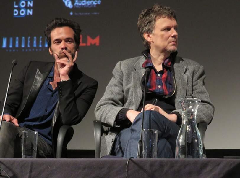 Michel Gondry et Romain Duris
