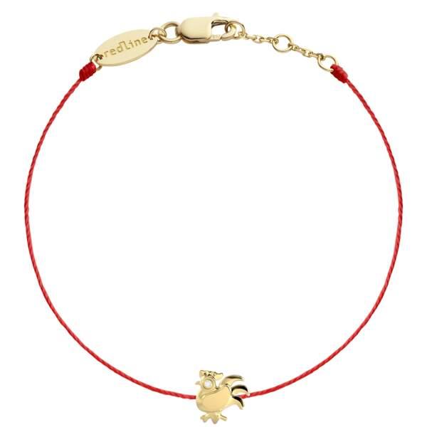 Bracelet. En or jaune 18 carats, 420€, sur www.redline-boutique.com et au Printemps et aux Galeries Lafayette.
