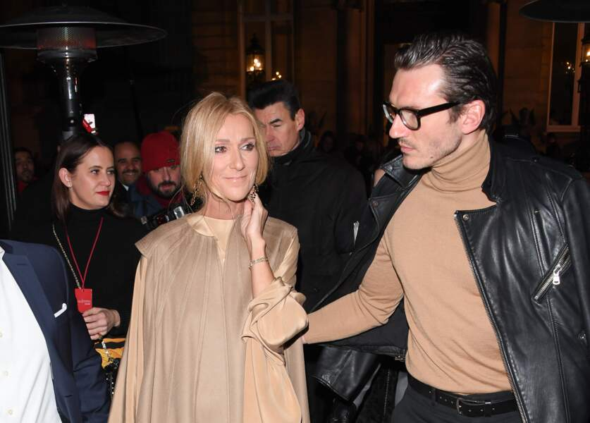 """La star et son """"meilleur ami"""" quittent le défilé Valentino le 23 janvier 2019"""