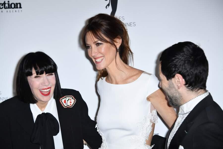 Chantal Thomass, Mareva Galanter et Alexis Mabille