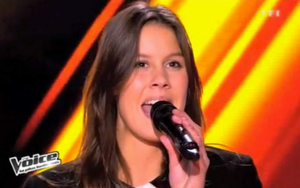 Fanny, la fille de Michel Leeb, a tenté sa chance en 2013