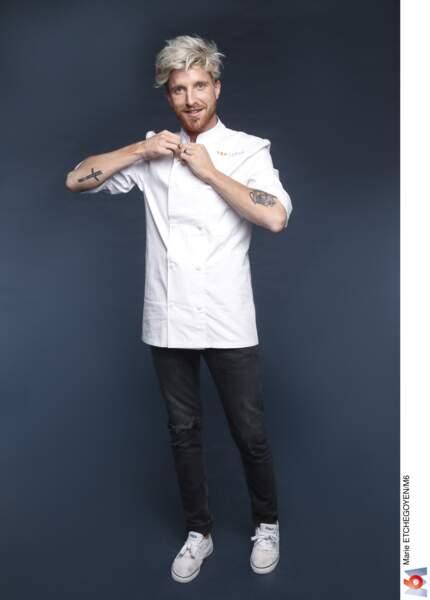 Paul Delrez / 27 ans / Bruxelles / Chef de ses deux restaurants