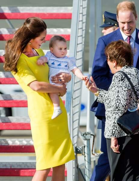 Comme d'hab, le prince George leur pique la vedette