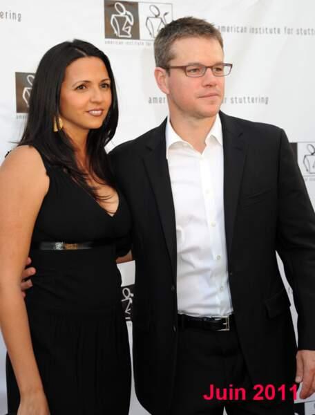 Matt Damon en juin 2011