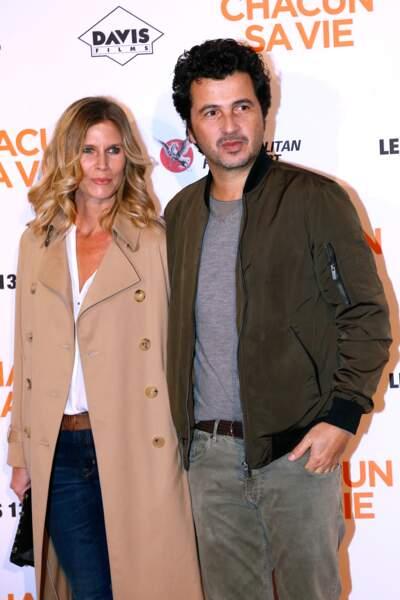 Avant-première du film Chacun sa vie : Sarah Lelouch et David Marouani