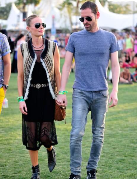 Kate Bosworth et son fiancé Michael Polish
