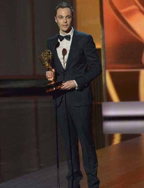 Meilleur acteur dans une série comique: Jim Parsons, The Big Bang Theory