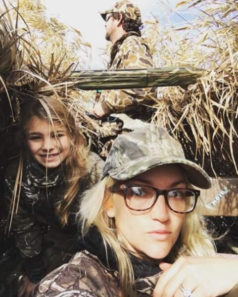 "Maddie et Jamie-Lynn Spears lors d'une ""chasse"" en Louisiane"