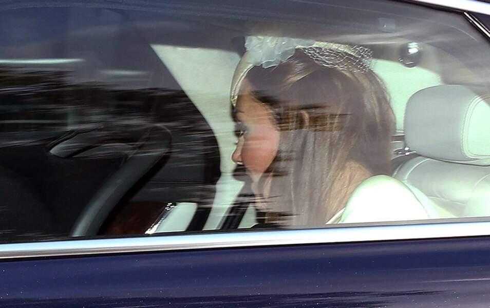 La duchesse de Cambridge veille sur son fils
