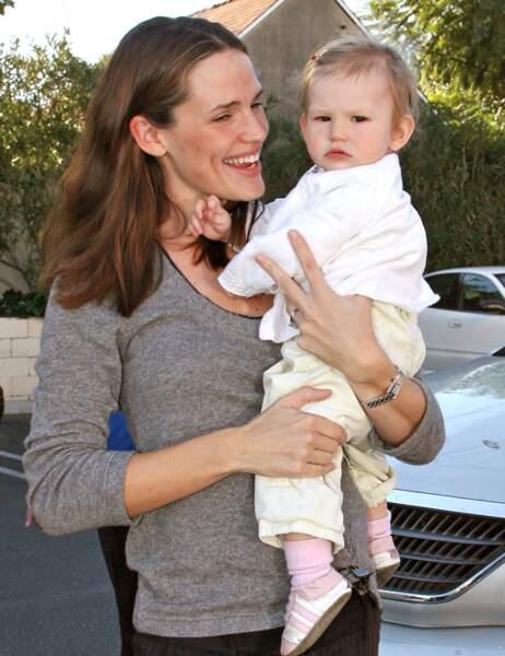 Jennifer Garner et sa fille Violet bébé...