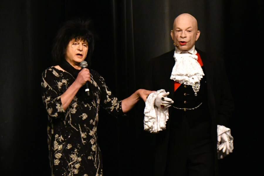 Calixte de Nigremont et Yvette Leglaire au 35ème festival Mont-Blanc Humour