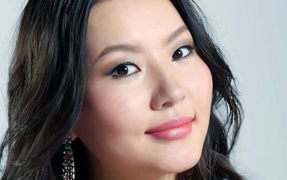 Miss Mongolie Pagmadulam Sukhbaatar, 22 ans, 1m75
