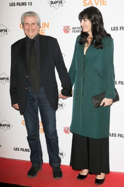 Avant-première du film Chacun sa vie : Claude Lelouch et Valérie Perrin
