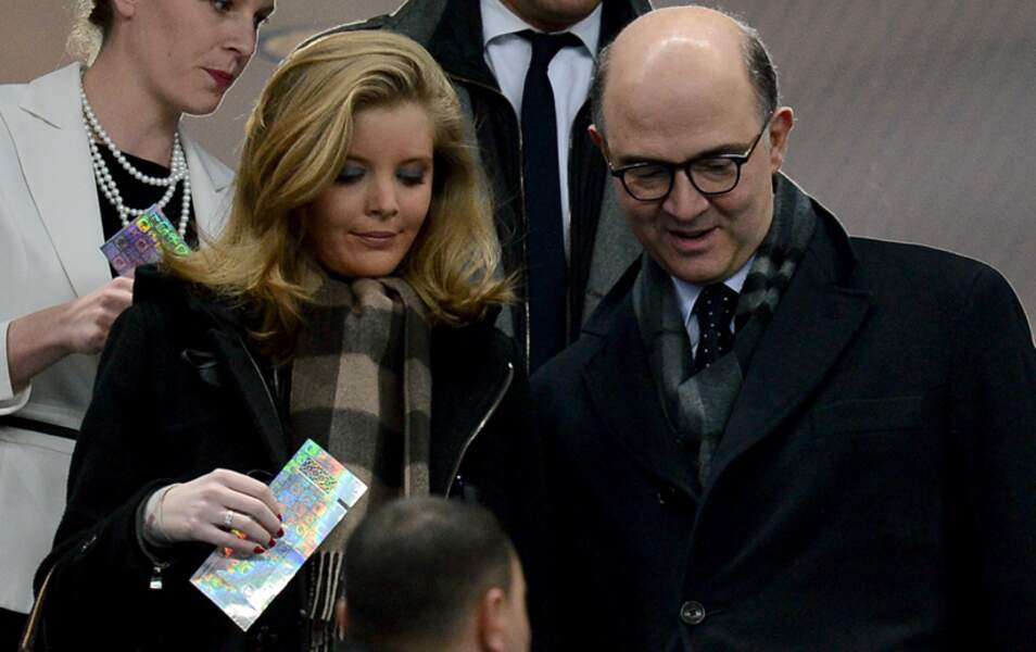 Pierre Moscovici et sa compagne Marie-Charline