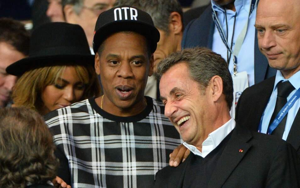 Jay Z et Nicolas Sarkozy