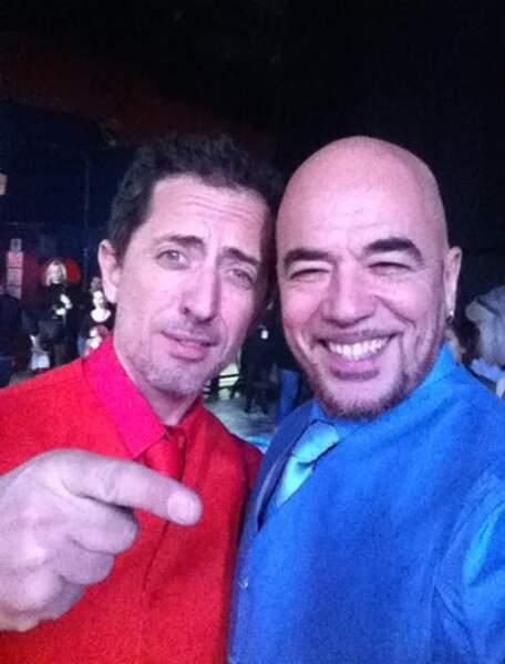 Gad Elmaleh et Pascal Obispo