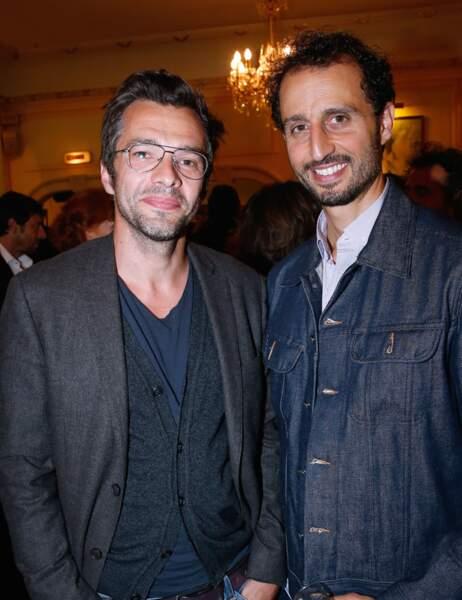 Arié Elmaleh et un ami