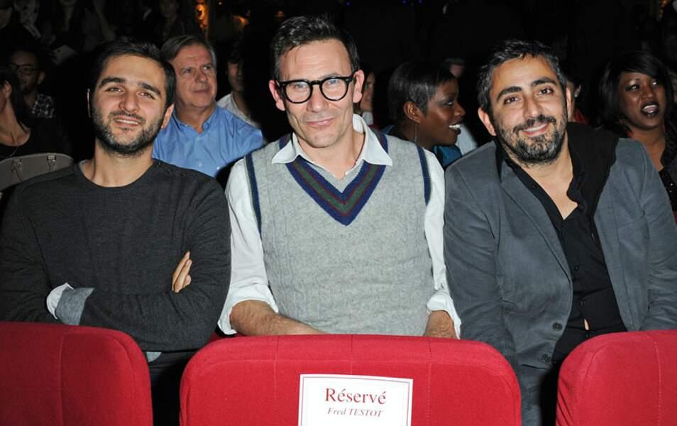 Olivier Nakache, Michel Hazanavicius et Eric Toledano