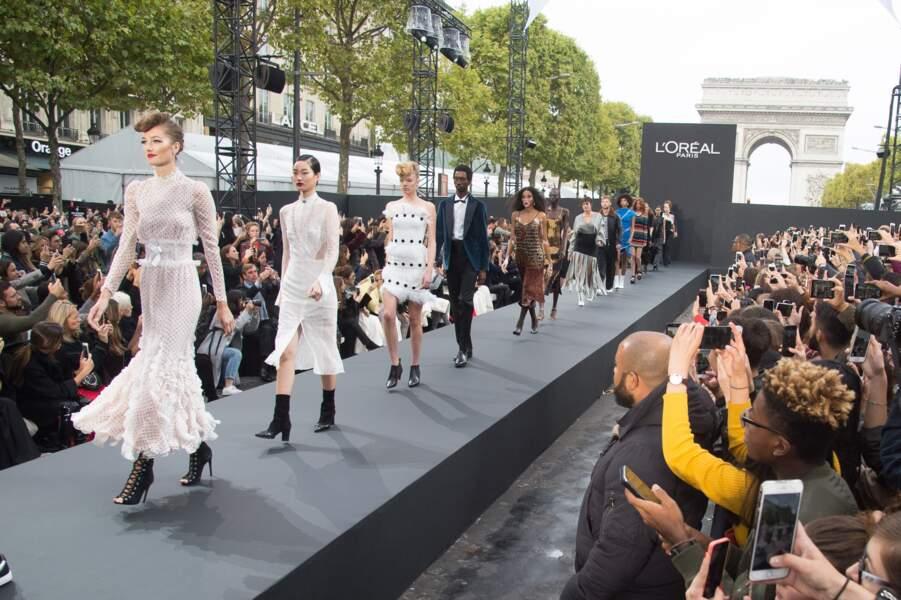 Le Défilé L'Oréal Paris show - Finish