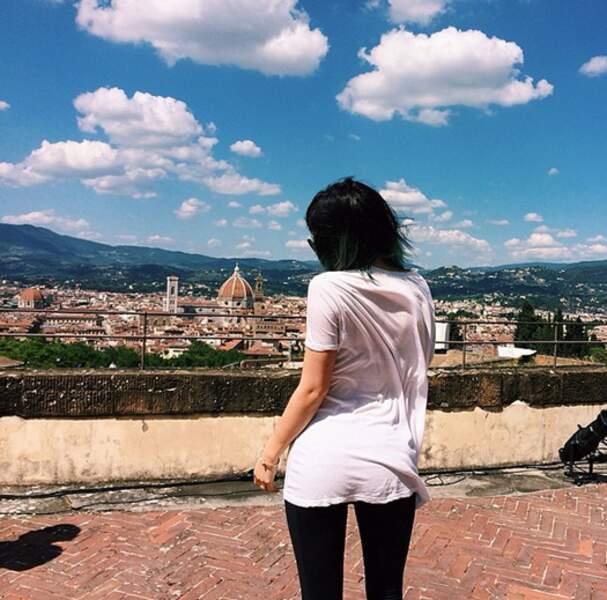 Le lendemain, vue depuis le fort florentin