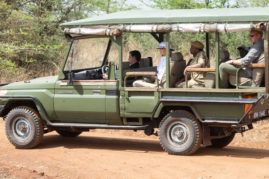 Melania Trump est en voyage officiel à travers l'Afrique