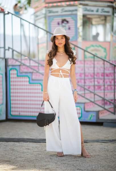 Les meilleurs looks de la première semaine de Coachella : Claudia Cheng
