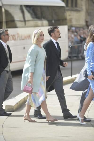 Katy Perry et Orlando Bloom au mariage d'Ellie Goulding