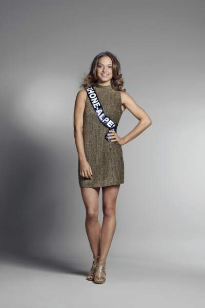 Miss Rhône-Alpes : Camille Bernard – 20 ans