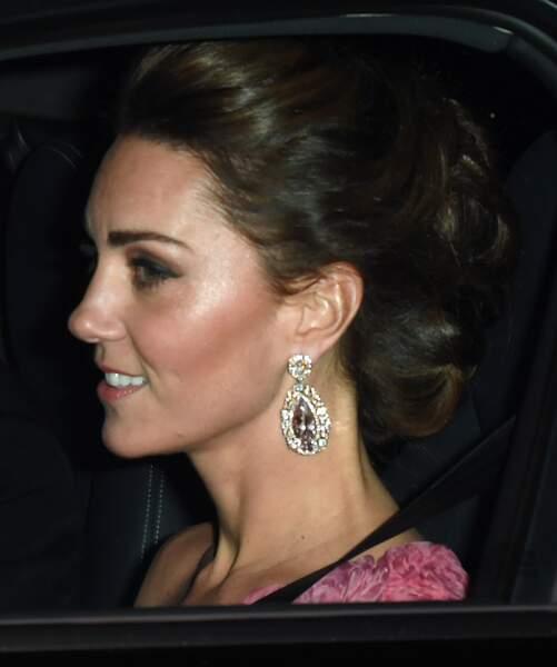Kate Middleton à l'anniversaire du prince Charles à l'anniversaire du prince Charles