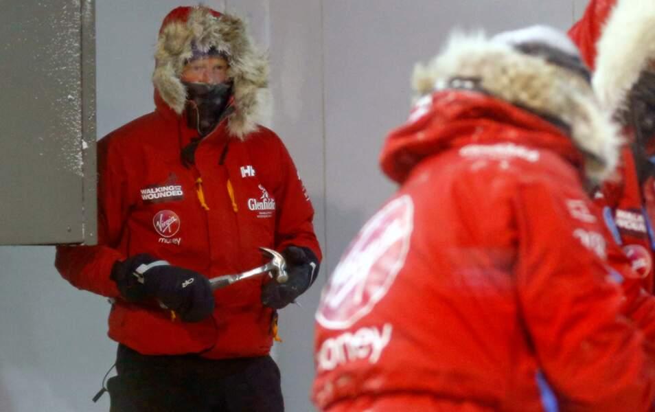 Le prince Harry se prepare pour son trek en Antarctique