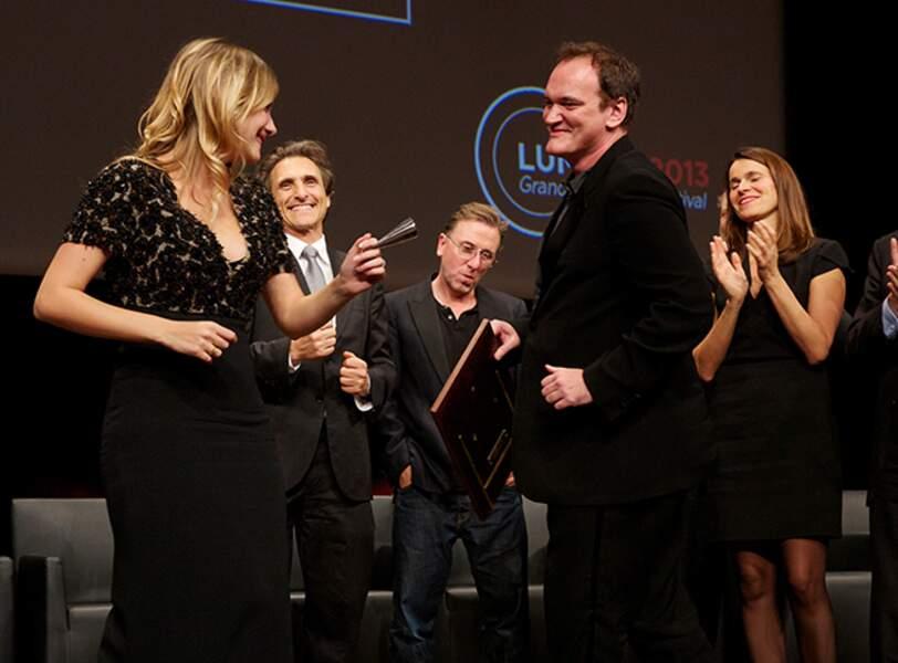 Mélanie Laurent et Quentin Tarantino