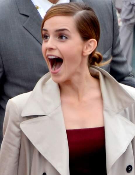 Le best-of des grimaces : Emma Watson