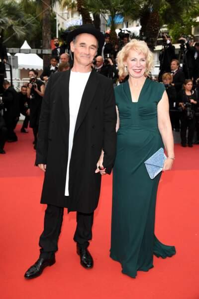 """Mark Rylance, le héros du film """"le BGG"""" et Claire van Kampen"""