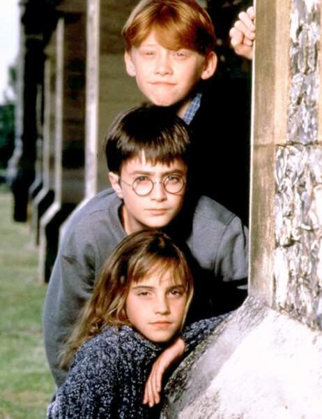 Avant / après : voilà à quoi ressemblent nos petits héros d'Harry Potter...