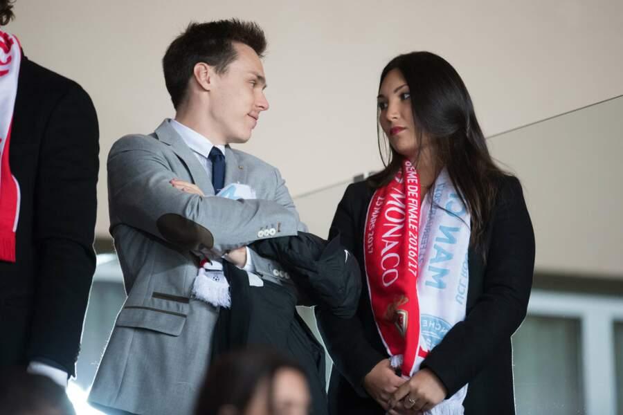AS Monaco vs Manchester City : Louis Ducruet et sa petite amie, Marie