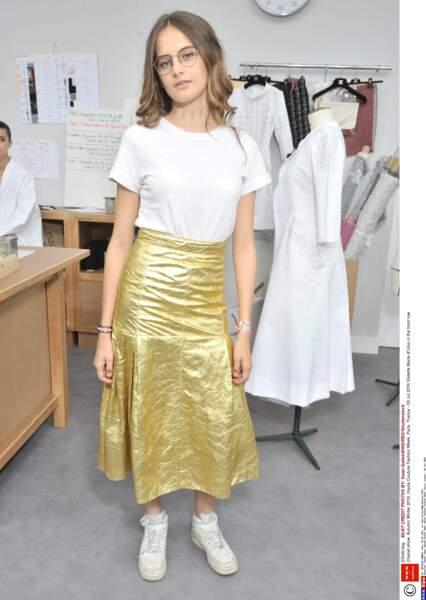 Défilé Chanel Haute Couture : Violette Marie d'Urso, la plus jeune fille d'Inès de la Fressange