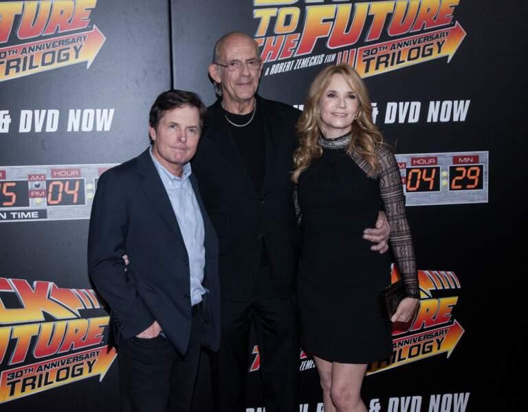 Campés par Michael J. Fox, Christopher Lloyd et Lea Thompson