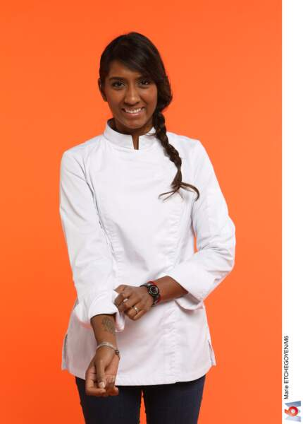 Kelly Rangama, 28 ans, Puteaux / Chef du restaurant Le Boutary