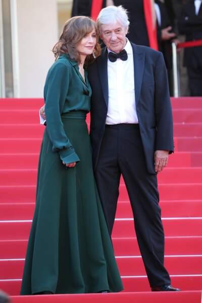 Isabelle Huppert et Paul Verhoeven