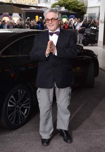 Cannes 2016: George Miller en noir et gris (mais avec un noeud pap' à pois!)