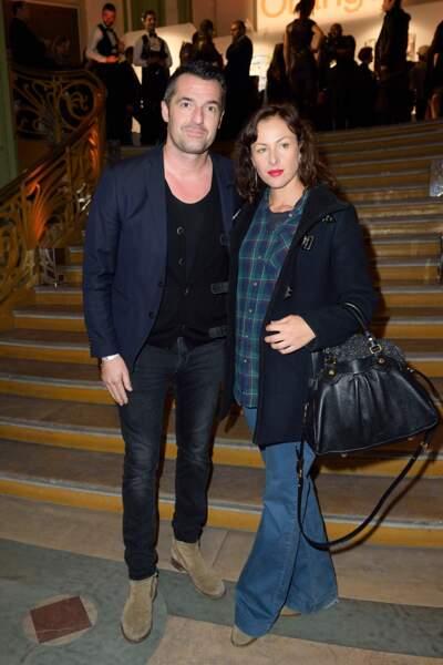 Arnaud Ducret et sa compagne