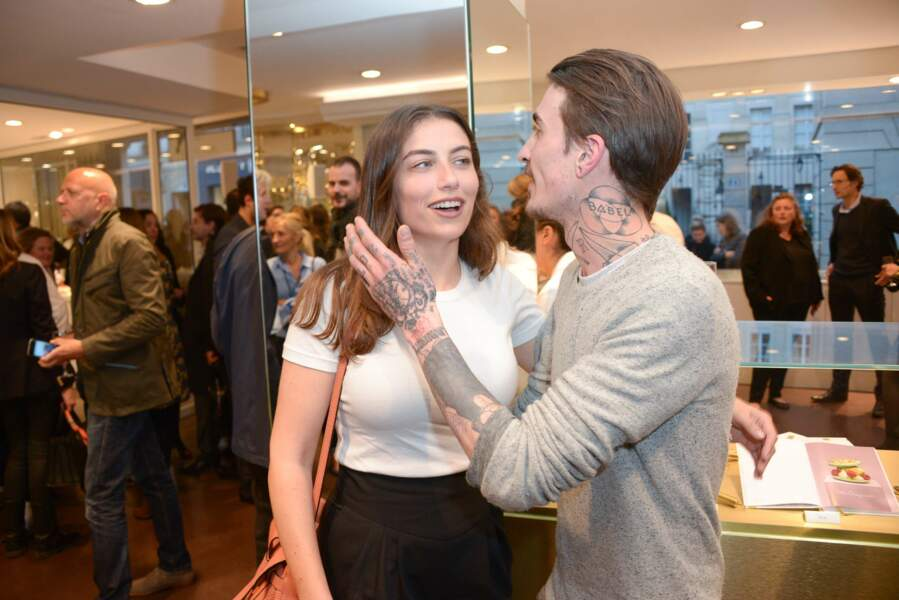 Paloma Coquant et Guillaume Sanchez très complices