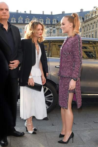 Lily Rose Depp et Vanessa Paradis