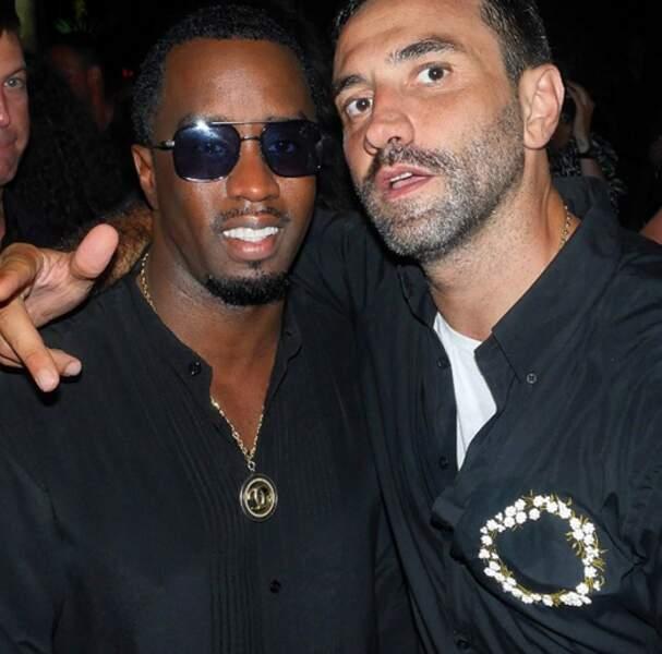 Riccardo et P. Diddy