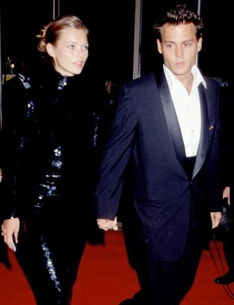 Johnny Depp en août 1995