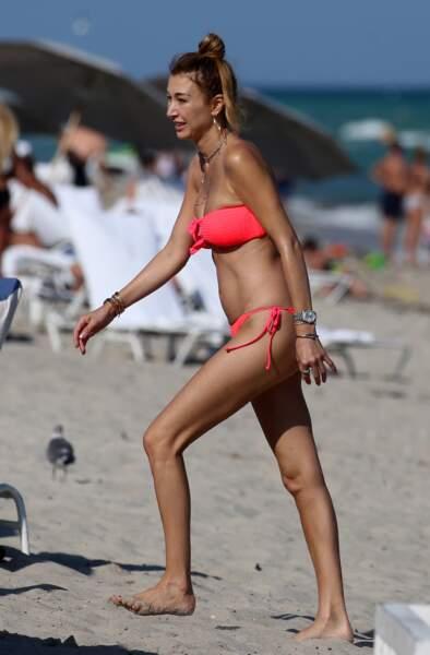 Les sœurs de Gigi et Bella Hadid en maillot de bain : Marielle Hadid à Miami