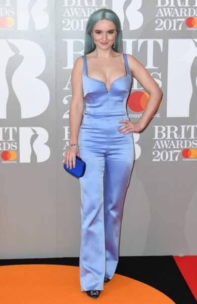 Brit Awards 2017 : Grace Chattode Clean Bandit